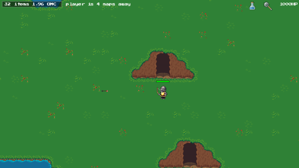 screen shot of game